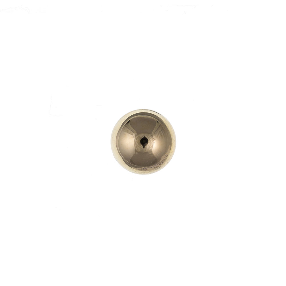 Men's 9ct Yellow Gold 5mm Ball Gents Stud